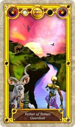 Quest Tarot Father of Stones