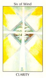 Tarot of the Spirit 6 of Wind