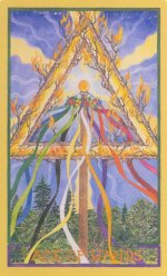 Wheel of Change Ace of Wands